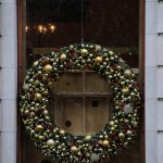 Wreath on The Plaza Hotel